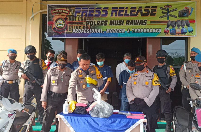 Dua Orang Anak di Musi Rawas Terlibat Kasus Pembobolan Warung