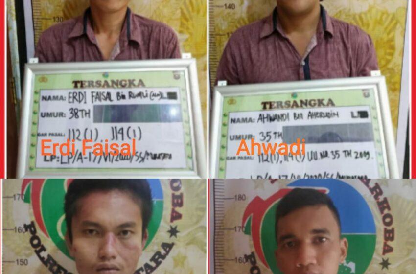 Transaksi Narkoba di Belakang Rumah, Baru Bebas Asimilasi Warga Muratara Ditangkap
