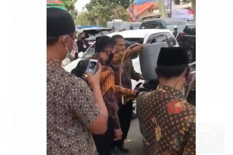 Mobil Wapres KH Ma'ruf Amin Disebut Kehabisan BBM dan Isi Bensin Pakai Jeriken