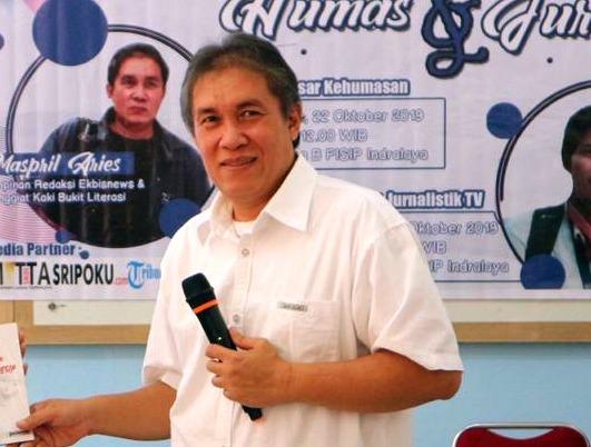 """Pengurus PWI Sumsel Juara Menulis """"Dukung Geopark Suoh"""" di Lampung"""