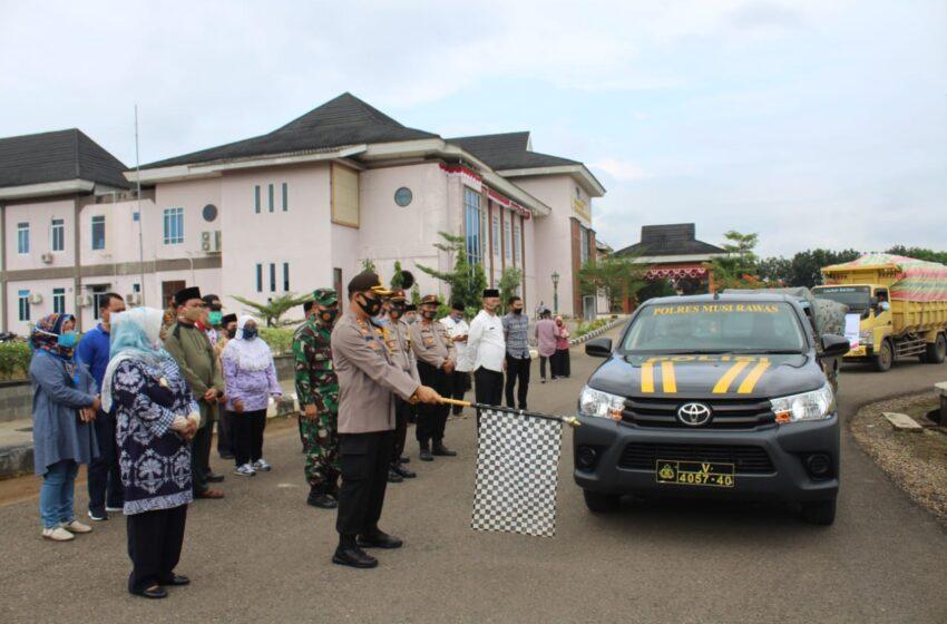 Pemkab Musi Rawas Tuntas Bagikan Bansos Tahap Tiga ke 14 Kecamatan