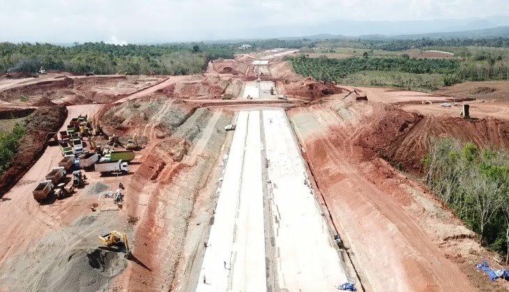 Jalan Tol Bengkulu – Lubuklinggau Tersambung 6,5 Kilometer