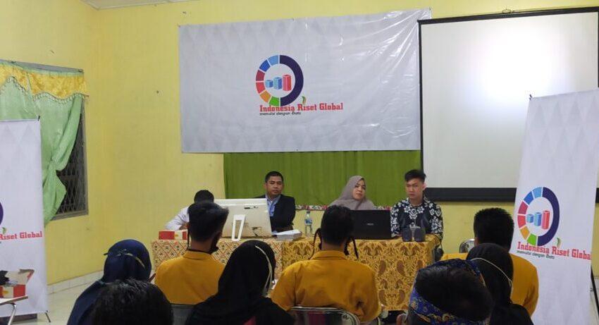 Survei IRG: Elektabilitas Syarif – Surian 38 Persen, Devi – Inayatullah 36 Persen
