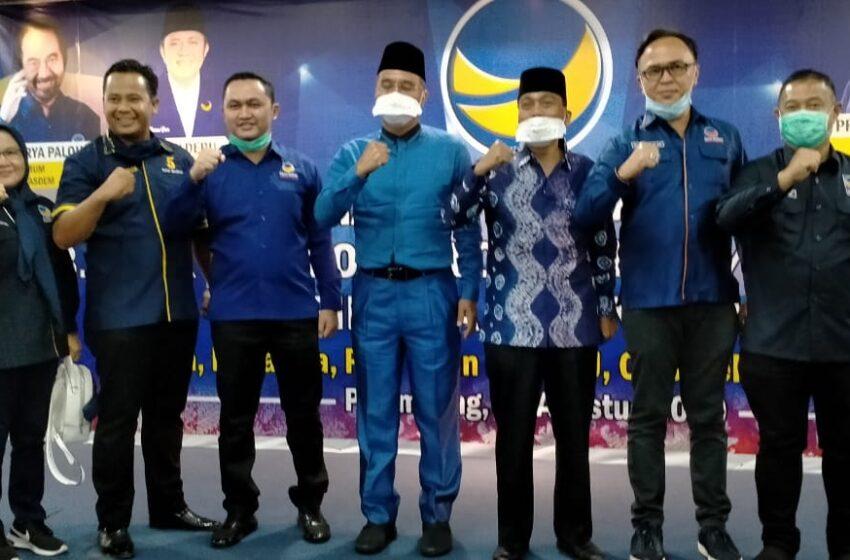 Terima Rekomendasi NasDem, H2G – H Mulyana Kantongi 10 Kursi Parpol di Parlemen