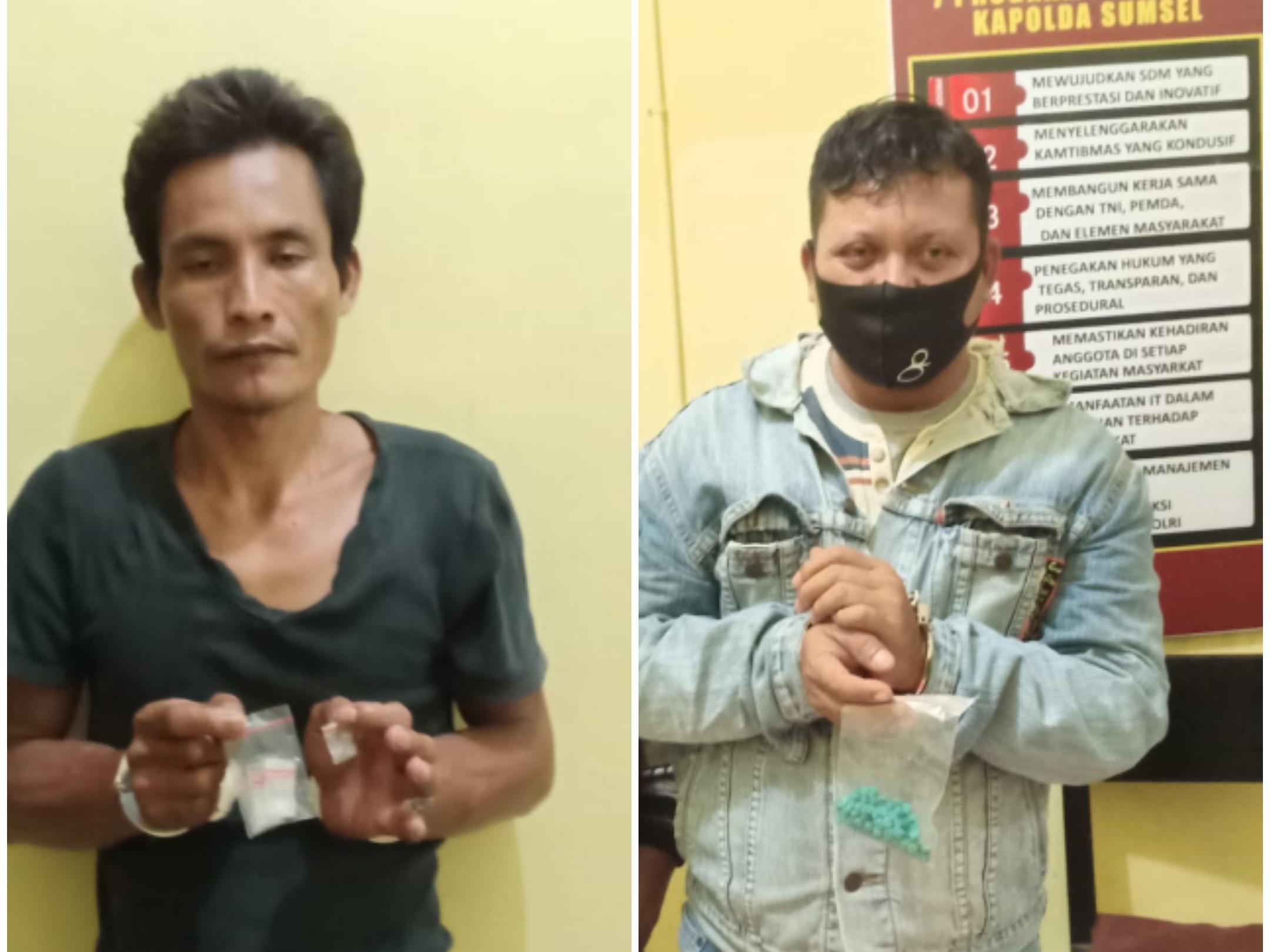 Polisi Tangkap 2 Tersangka di Tugumulyo, Amankan 100 Butir Ekstasi