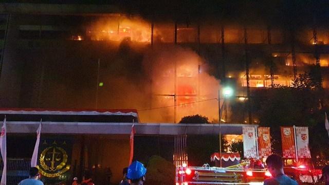 Gedung Kejaksaan Agung Terbakar, Pastikan Berkas Perkara Aman