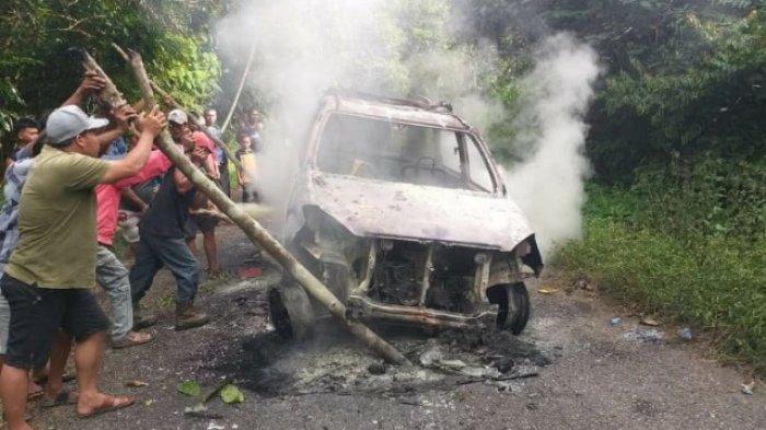 Travel Lubuklinggau – Muratara Hangus Terbakar
