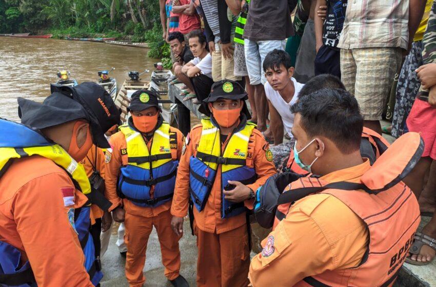 Baling-baling Perahu Hilang, Warga Musi RawasTenggelam