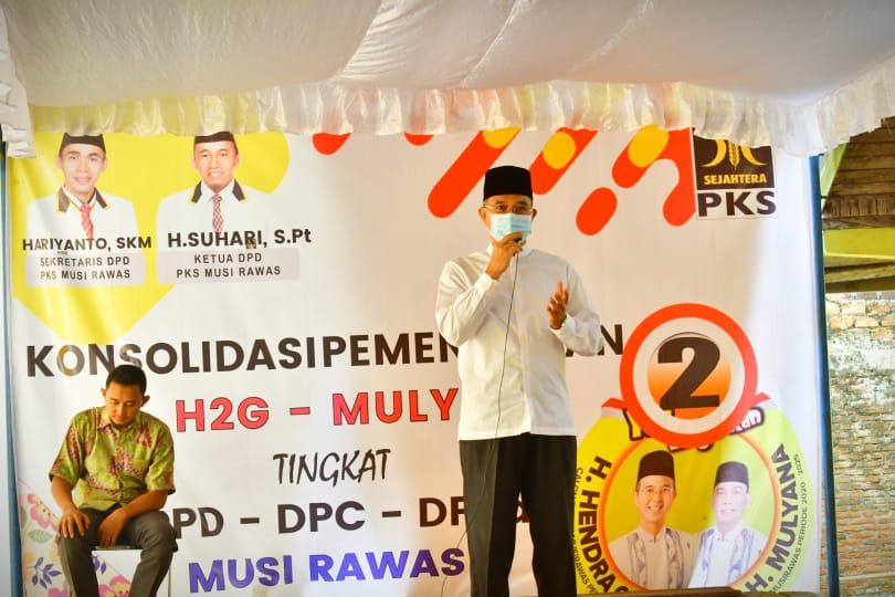 Para Kiyai Siap Menangkan H2G Mulya di Pilkada Musi Rawas