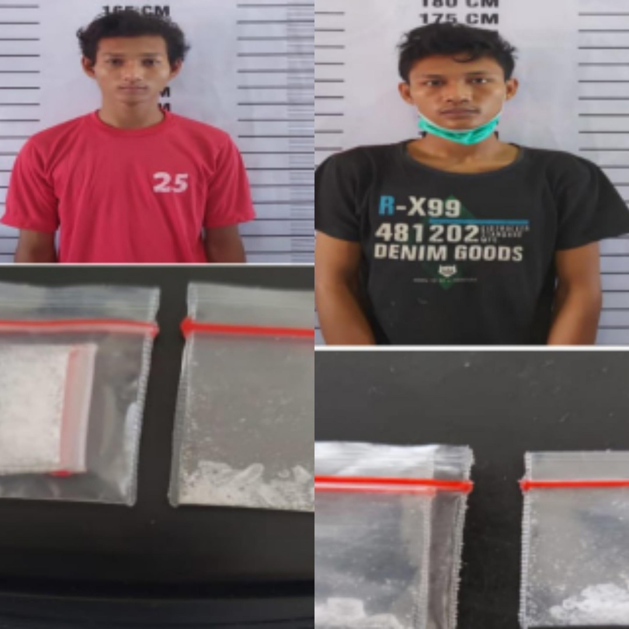 Jual Sabu ke Polisi, Dua Pengedar Narkoba Lubuklinggau Ditangkap