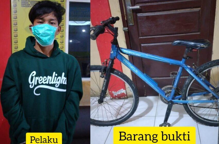 Sekelompok Pemuda di Lubuklinggau Curi Sepeda, Satu Ditangkap
