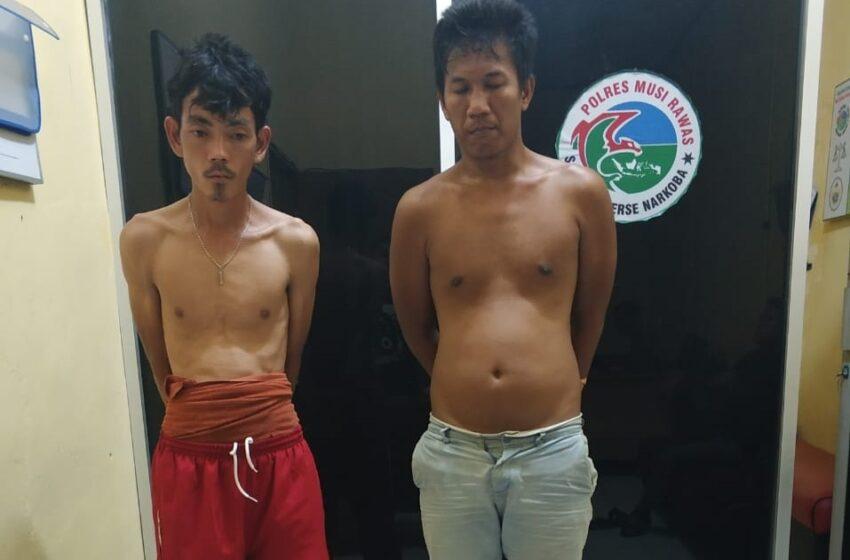Dua Warga Musi Rawas Jadikan Pondok Lokasi Transaksi Narkoba
