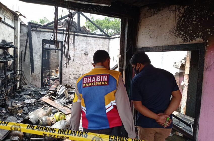Gara-gara Tambal Ban, Dua Rumah di Lubuklinggau Terbakar