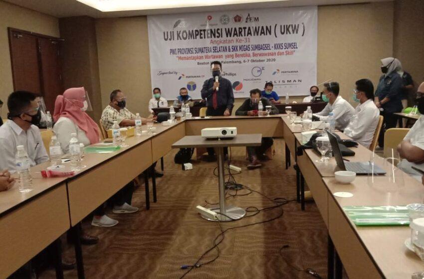 Ikuti UKW, Empat Wartawan di Sumsel Tak Berkompeten