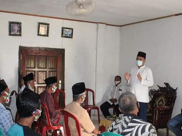 Lanjutkan Pembangunan, Tokoh Masyarakat Desa Air Satan dan Air Lesing Dukung H2G Mulya