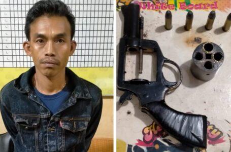 Masuk Halaman Pemkot Lubuklinggau Bawa Senpi, Warga Rejang Lebong Ditangkap