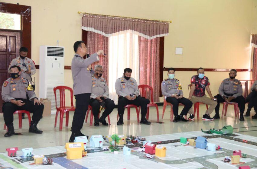 Polres Musi Rawas Ingatkan Ulang Pengamanan Pilkada