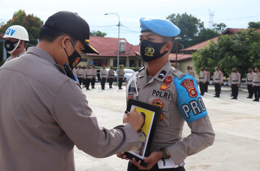 Langgar Disiplin, Dua Anggota Polres Musi Rawas Dipecat