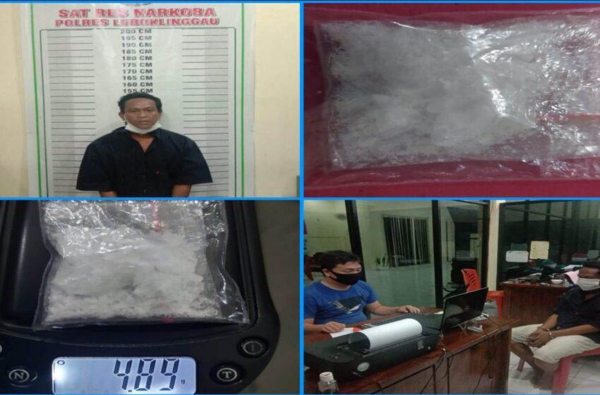 Hendak Transaksi Narkoba di Depan Alfamart, Resedivis Ditangkap