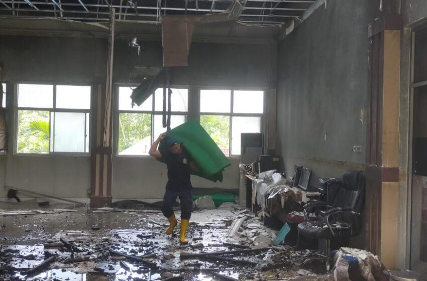 Kantor Pajak Pratama Lubuklinggau Kebakaran