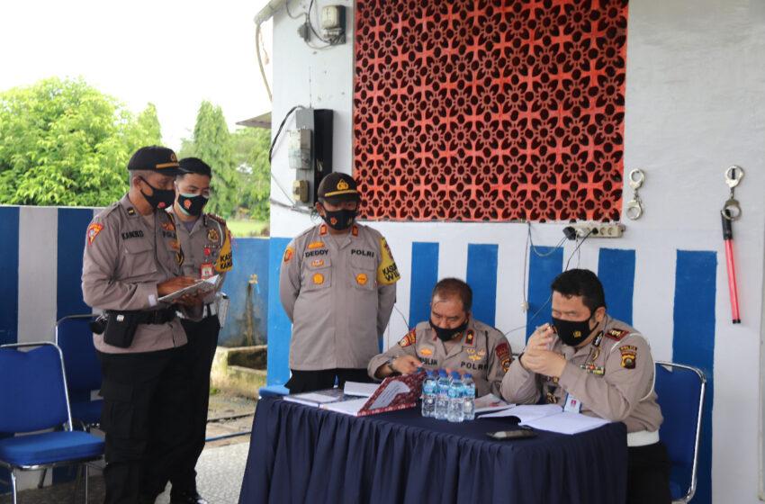 Polda Sumsel Cek Pelaksanaan Operasi Lilin di Musi Rawas