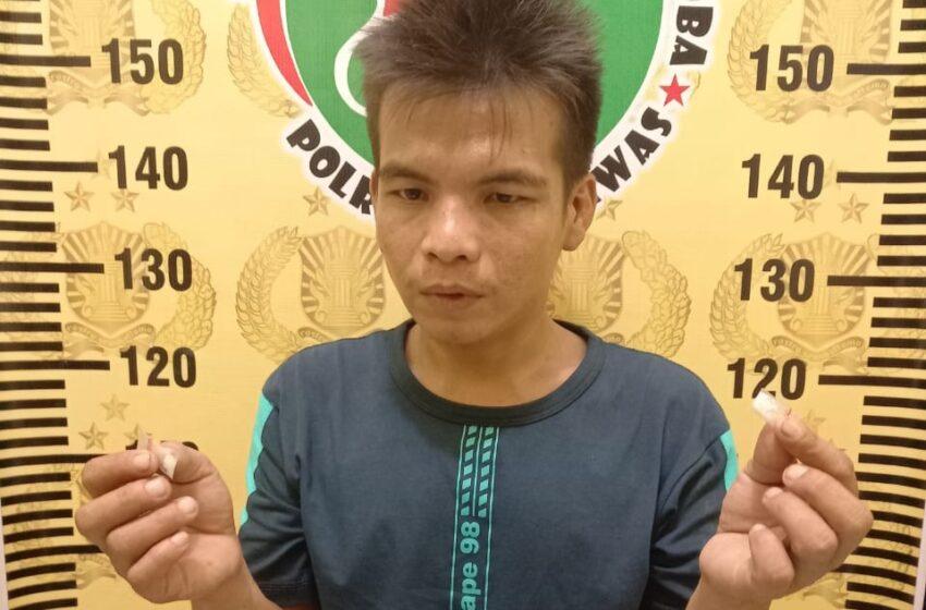 Pemilik Sabu Ditangkap di Warung Bakso