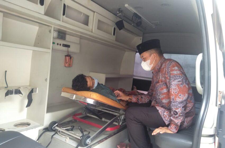 Terpanggil, BaRu Bawa Pasien Sakit Ginjal ke RS Siti Aisyah