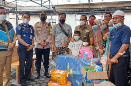 Dikunjungi Wali Kota dan Kapolres Lubuklinggau, Korban Kebakaran Minta Bantuan Diurusi Ijasah dan BPKB yang Terbakar