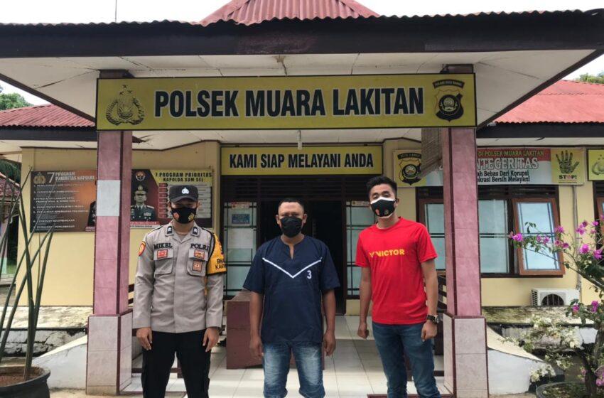 Gelapkan Ertiga, Ferry Asal Megang Sakti Ditangkap Polisi