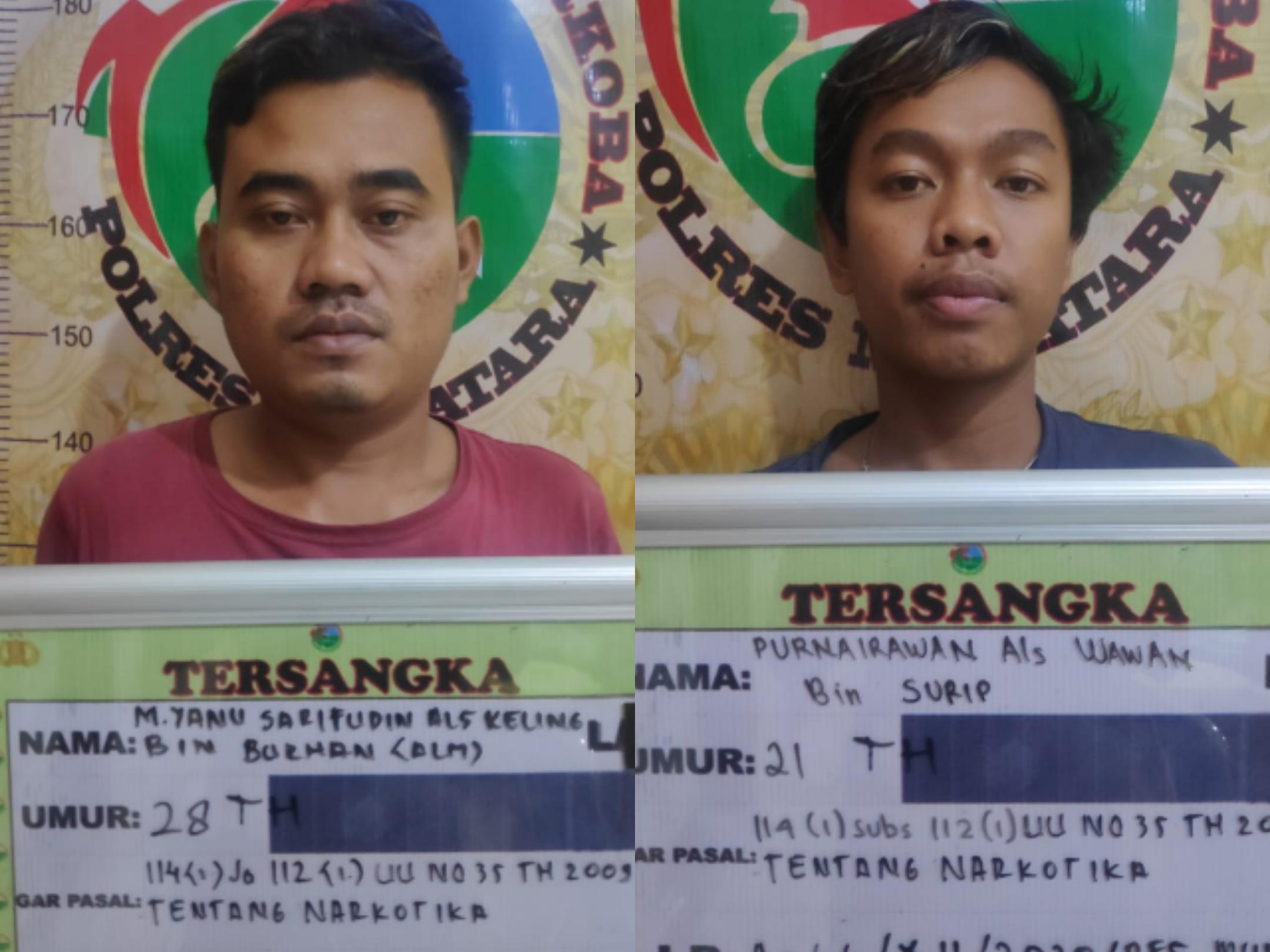 Dua Warga Musi Rawas Ditangkap di Depan Polres Muratara