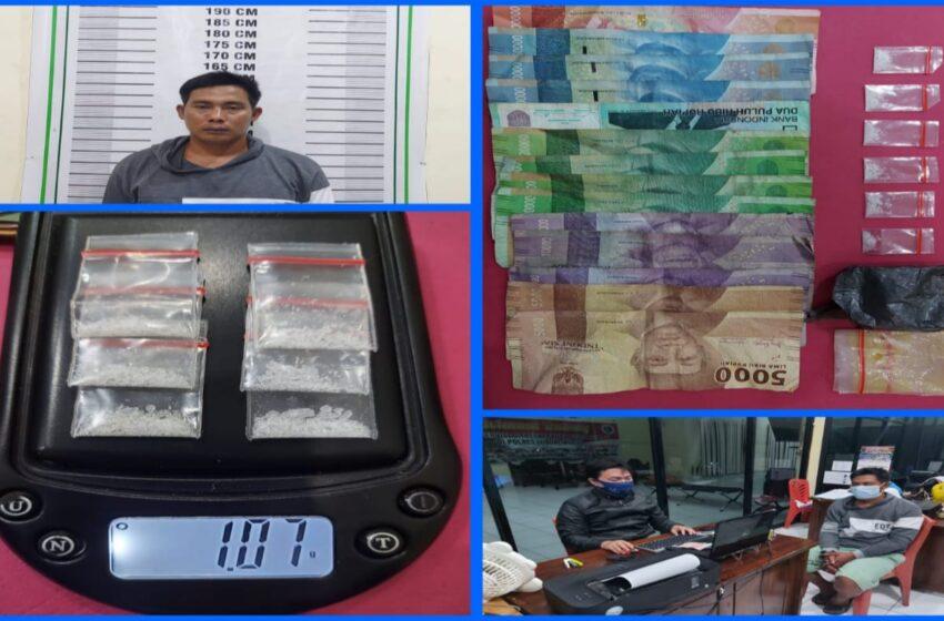 Digrebek Petugas Sat Narkoba Lubuklinggau, Antoni Selipkan Sabu di Seng Dapur
