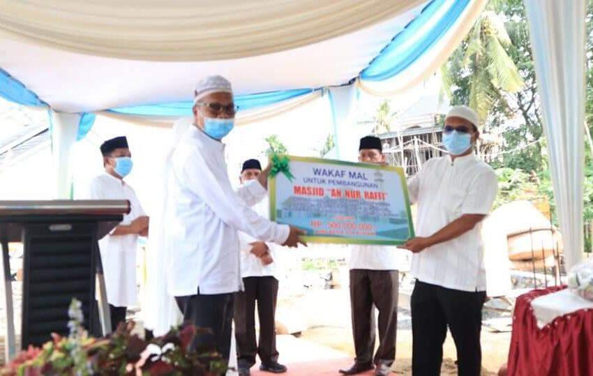 Orang Tua Korban Pesawat Jatuh, Bangun Masjid untuk Almarhum