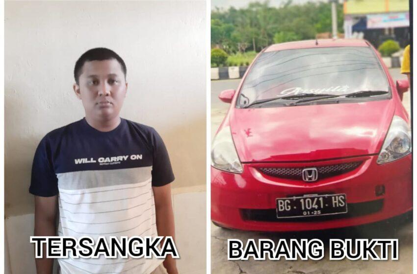 Pinjam Mobil untuk Pacaran, Pengantin Baru Ditangkap