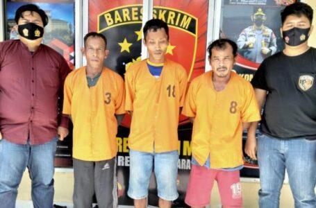 Bakar Lahan Diupah Rp100 Ribu, 3 Orang Ditangkap